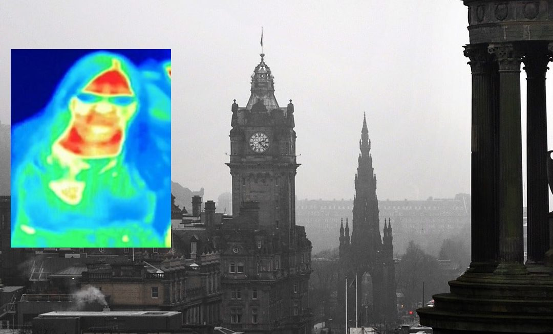 Breast Cancer Revealed by 'Accident' with Museum Thermal Camera